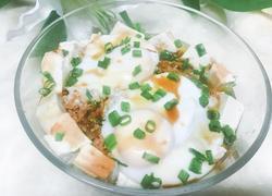 豆腐蒸肉末鸡蛋
