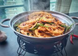 麻辣干锅藕片