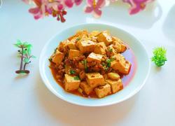 新文美食 肉末豆腐