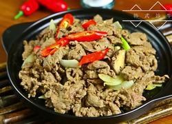正宗韩式炒牛肉