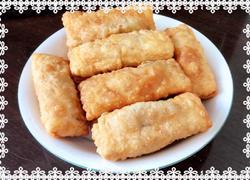 肉末三丝春饼(自己和面)