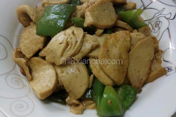 素鸡炒青椒