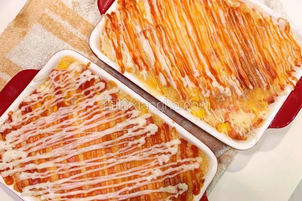 芝土烤土豆