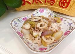 咸菜炒鱿鱼