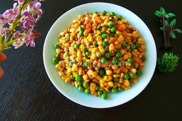 新文美食 松仁玉米