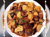 芋头香菇烧排骨的做法[图]
