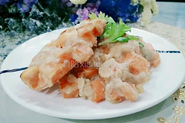 香酥红薯饼
