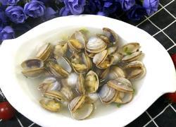 鲜香白蛤汤