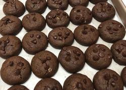 松软巧克力杏仁饼干