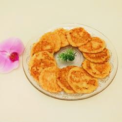 北京特色小吃 胡萝卜土豆煎饼的做法[图]