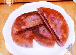 紫薯红豆饼