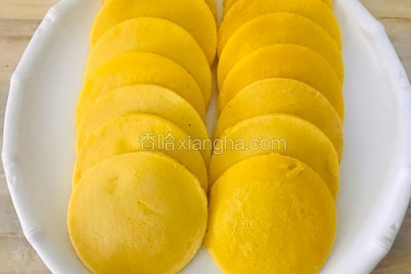 养生玉米面饼