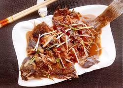 酱焖鲽鱼(麻辣)