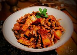 干豆角焖肉
