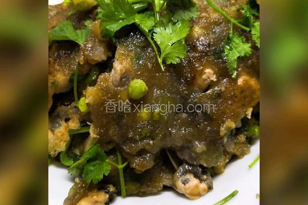蚝烙(蚵仔煎)