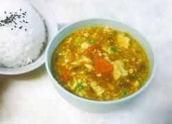 咖喱豆腐浓汤#电饭锅#