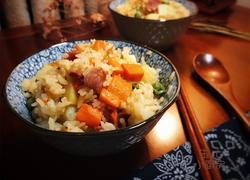 胡萝卜土豆焖饭