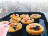 无淡奶莓果蛋挞的做法[图]