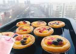 无淡奶莓果蛋挞