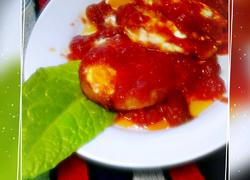 茄汁荷包蛋