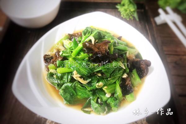 虾米油菜薹