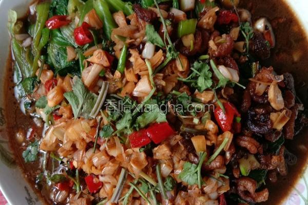 蒜蓉海米小油菜
