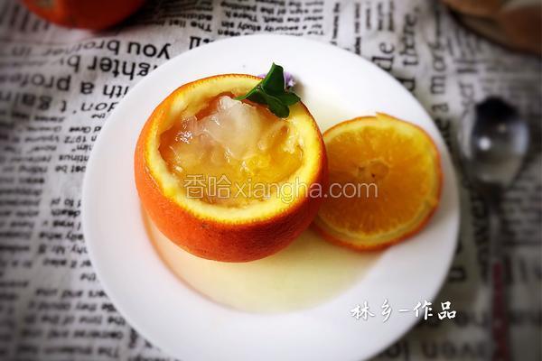 鲜橙银耳羹