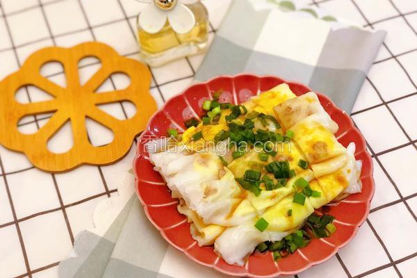 #蒸菜#鸡蛋瘦肉肠粉