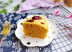 红枣小米发糕