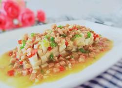 午餐肉蒸杏鲍菇