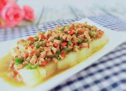 午餐肉蒸冬瓜