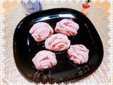 玫瑰花酿紫薯花卷的做法[图]