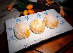 南瓜糯米糍(红豆沙馅)