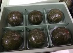 咸蛋黄肉松青团(少油少糖)
