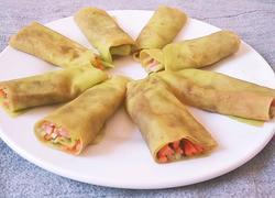 菠菜汁春饼