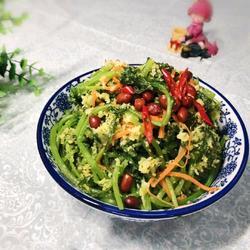 粉蒸山野菜