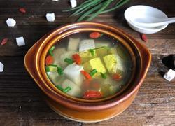 艾叶豆腐汤