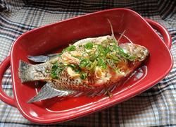#蒸菜#清蒸罗非鱼