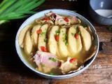腊肉炖霉豆渣的做法[图]