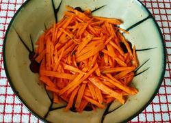十分钟速食 凉拌胡萝卜丝