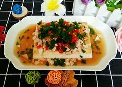 海鸭蛋蒸内酯豆腐