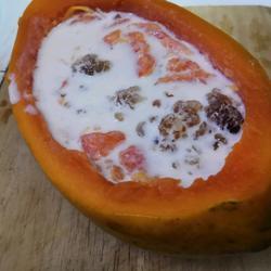 桃胶炖木瓜的做法[图]