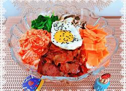 韩式辣白菜拌饭