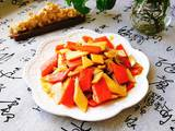 杏鲍菇炒胡萝卜的做法[图]