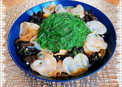 凉拌海藻黑白木耳(肠胃清道夫)