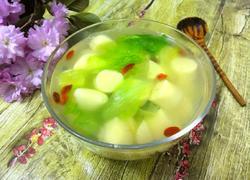 (鸡蛋豆腐版)翡翠白玉汤