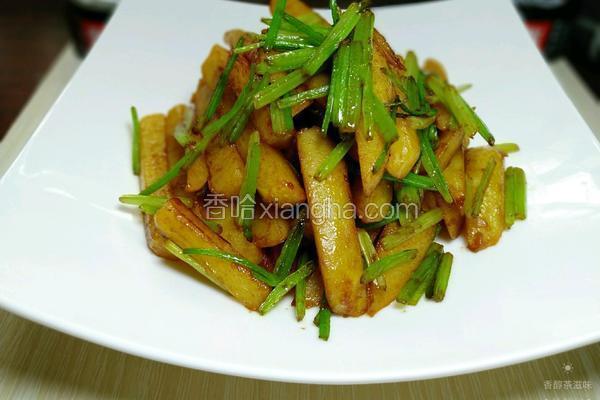 芹菜烧土豆