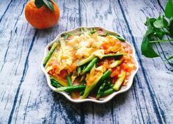 芦笋蕃茄炒蛋