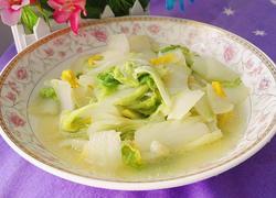 清炒黄白菜