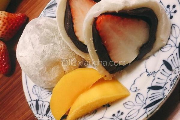 草莓大福芒果大福